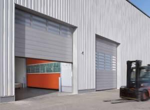 Puertas industriales y residenciales