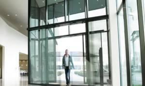 Puertas automáticas de cristal en Valencia