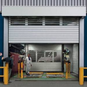 Instalación de puertas enrollables