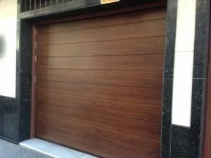 Montaje puertas de garaje en Valencia