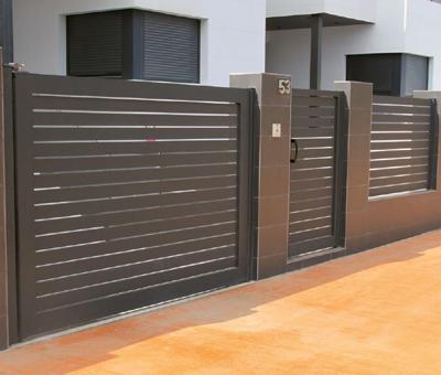 Puertas de aluminio Valencia